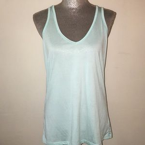 NWOT green workout top